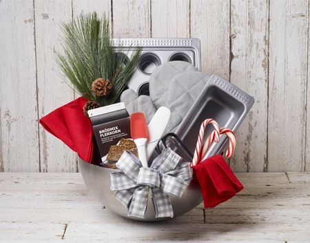 Pinterest the world s catalog of ideas for Christmas kitchen gift basket ideas