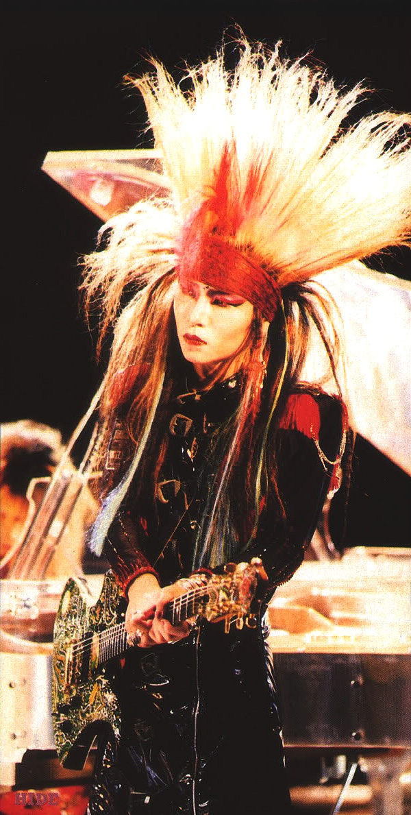 hide Matsumoto, earlier X-Japan, c 1989