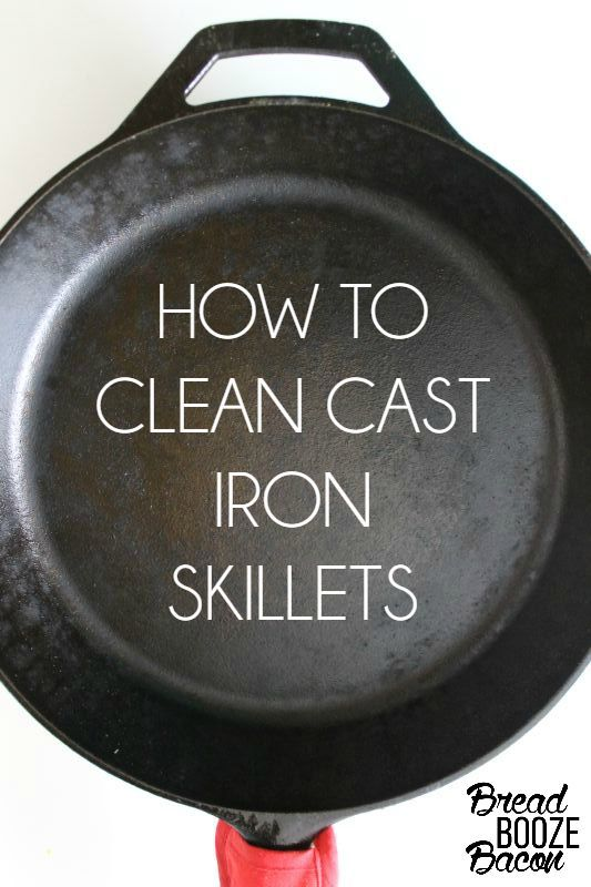 how to clean cast iron skillets skillets black and bacon. Black Bedroom Furniture Sets. Home Design Ideas