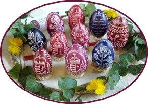 karcolt tojás, Bakó Ildikó, tojáskarcoló, húsvéti, hímes tojás, írott, viaszolt, karácsonyfa díszek, betlehemek, Easter Eggs, Ostereier Kratzen, Eiermalen