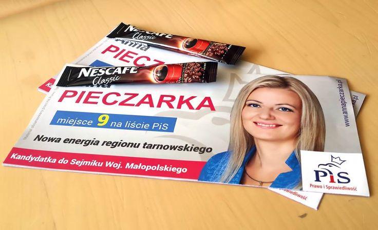 Lek na brak energii? Podobno kawa. Takiej dosłowności nie lubię. #kiełbasawyborcza #plakatywyborcze #wybory2014 #wyborysamorzadowe2014