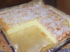 Geheime Rezepte: Joghurt - Schnittchen (schneller Kuchen)                                                                                                                                                     Mehr