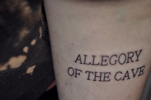 Plato's Allegory of the Cave Tattoo | Tattoo | Pinterest ...
