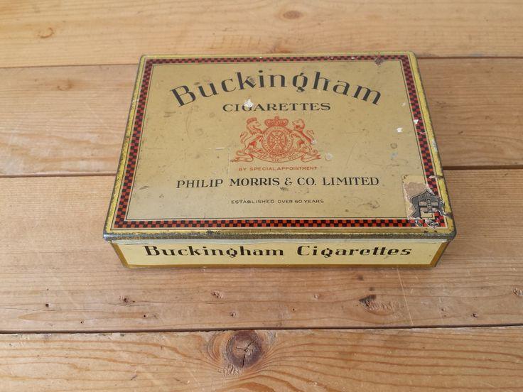 Vintage Cigarette Tin - Lot I