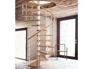Винтовая лестница GENIUS 010   Винтовая лестница - Fontanot Spa