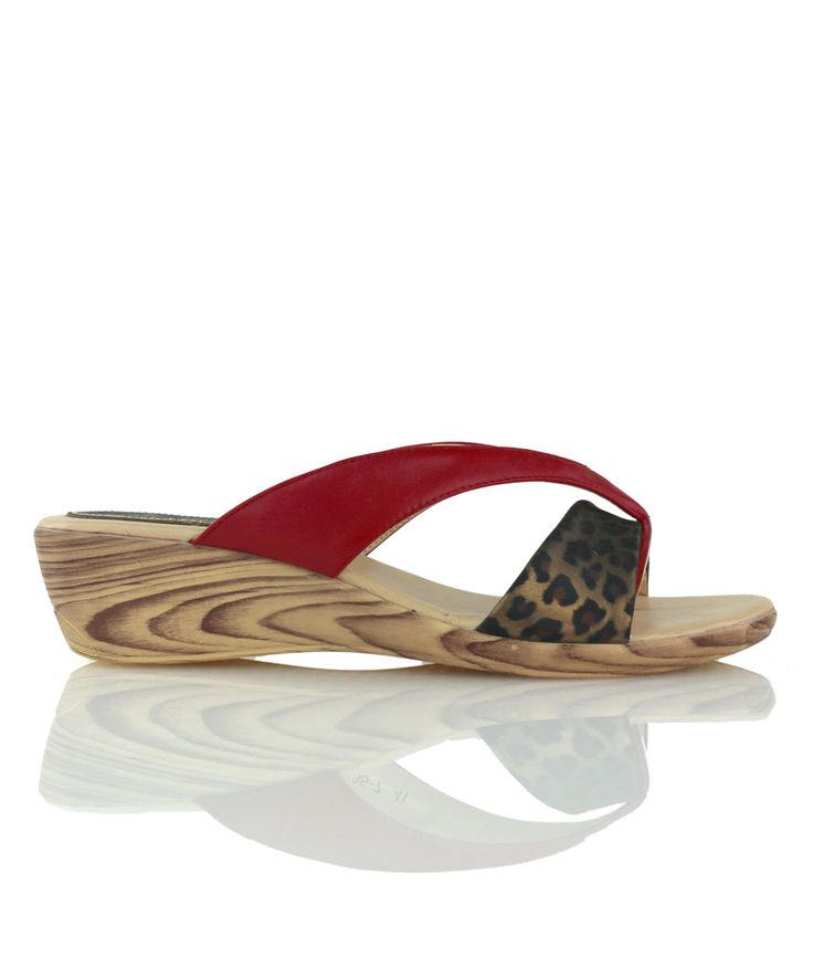 Manhattan - Playful wedge sandal from ou Cocktails on the Beach range