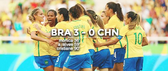 rio olympics 2016 : women's football | match day one | 03.08.2016  RESULTS:  / sweden 1-0 south africa  / canada 2-0 australia  / brazil 3-0 china  / zimbabwe 1-6 germany  / usa 2-0 new zealand  / france 4-0 colombia  NOTABLE MENTIONS:   / first goal of 2016 olympics by sweden's nilla fischer  / new record - fastest goal by canada's janine beckie (20 seconds)  / new record - fastest red card by canada's shelina zadorsky (18 mins)  / olympic debut - zimbabwe