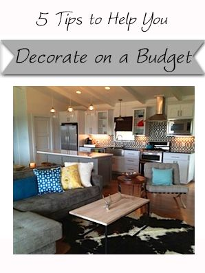 Tips for Decorating on a Budget | HomegrownInteriors #livingroom #bedroom #dinin