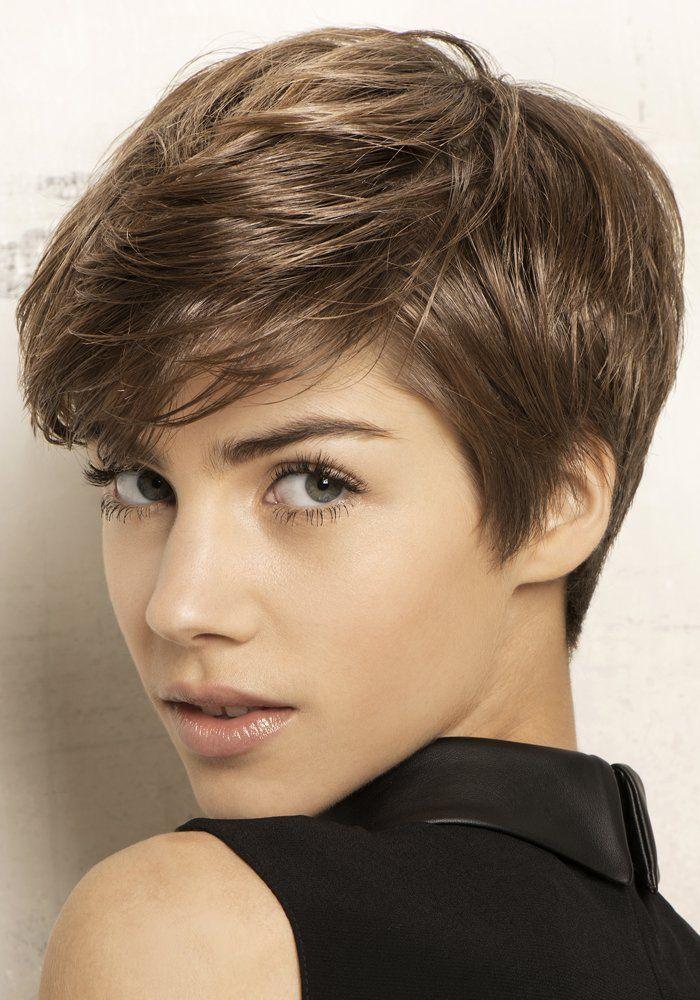 Glänzende naturbraune kurze Haare! 10 wunderschöne Frisuren, die Deine Haare strahlen lassen! - Seite 3 von 10 - Neue Frisur