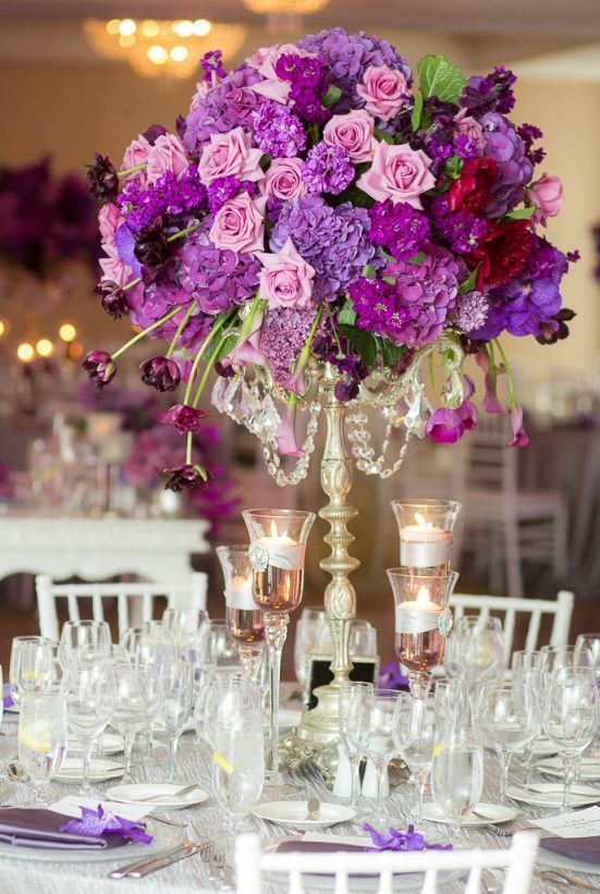 best 25 purple wedding centerpieces ideas on pinterest purple wedding decorations purple. Black Bedroom Furniture Sets. Home Design Ideas