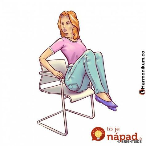 Netrápte sa brušákmi z ktorých len bolí chrbtica: 6 top cvikov pre ploché brucho, ktoré môžete cvičiť na stoličke!