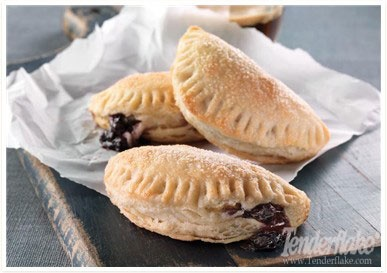 Blueberry Turnovers from www.Tenderflake.com
