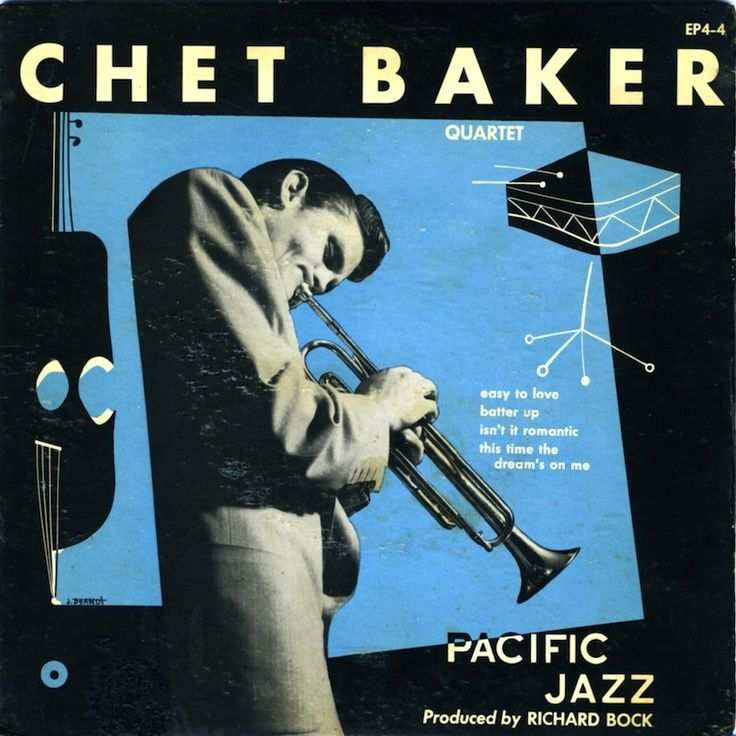 William Claxton 50s Chet Baker cover