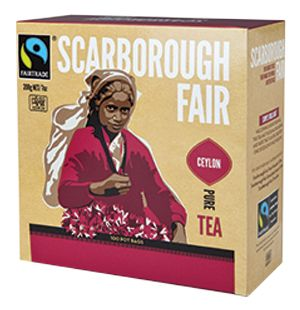 Scarborough Fair - Black Tea.  Check this and heaps more #Fairtrade products out here: http://fairtrade.org.nz/en-nz/buying-fairtrade-products #tea