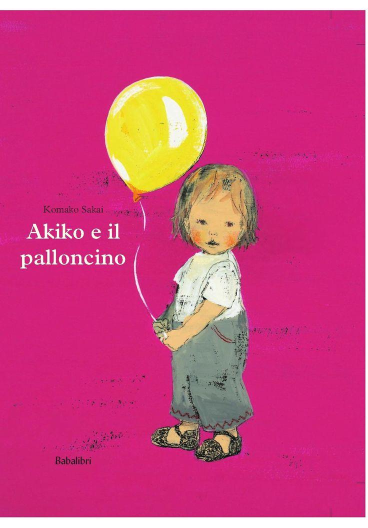 """Komako Sakai """"Akiko e il palloncino"""", Babalibri"""