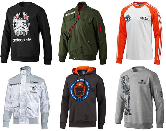 Star Wars Adidas Originals  Hoth Collection (I have the Orange and White long sleeve t-shirt)