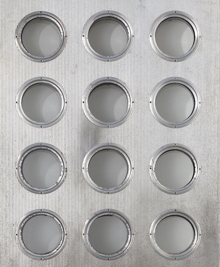 Jean Prouvé Porthole Panel, 1951⠀⠀⠀ #jeanprouvé #jeanprouve #prouvé #prouve #porthole #panel #zoom #aluminum #glass #architecture #element #design #galeriepatrickseguin #paris #london⠀⠀⠀ More on https://www.patrickseguin.com/fr/designers/jean-prouve-elements-architecture/inventaire-jean-prouve-elements-architecture/