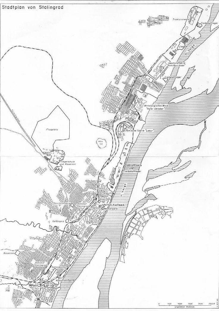 City Map of Stalingrad