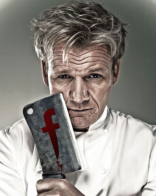163 best chef food related portraits images on pinterest - Gordon ramsay shows ...