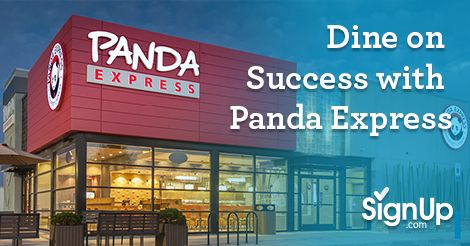 Dine on Success with Panda Express. It's Back-to-School time and that means you're back at it: planning, prepping and preparing for the school year. Maybe you're a parent-group veteran, or perhaps you're a new member of to the PTO or Boosters - wh