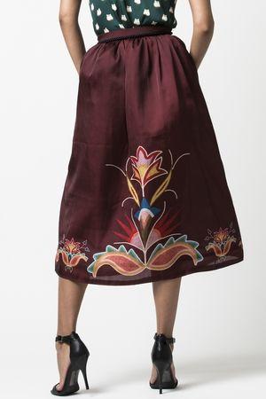 B. Yellowtail - Native Fashion: Jamie Okuma Floral Tea Skirt - $220