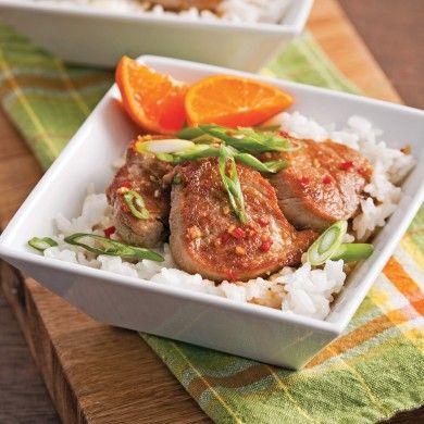 Médaillons de porc au gingembre - Recettes - Cuisine et nutrition - Pratico Pratiques