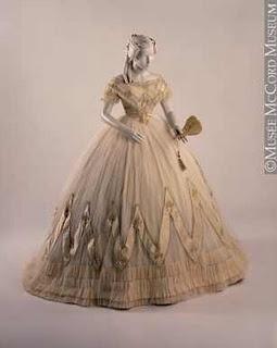Civil War Ball Gown; reminds me of Little Women :)