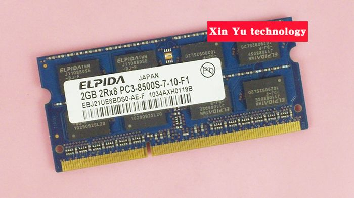 Lifetime warranty For Elpida DDR3 2GB 4GB 1066MHz PC3-8500S Original authentic ddr 3 2G notebook memory Laptop RAM 204PIN SODIMM