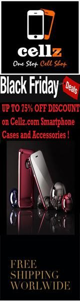 Black Friday Up to 75% Off Discounts from Cellz.com ! Order now Smartphone cases and accessories at cheapest prices and free shipping worldwide! #blackfriday