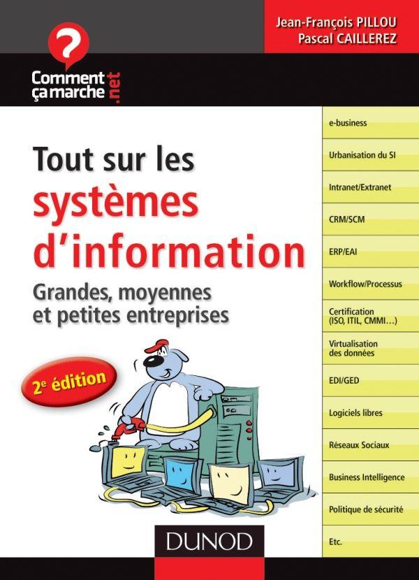 Rédaction de la 3ème édition de Tout sur les systèmes d'information aux Editions Dunod achevée, tout peut partir à la fabrication. Un peu de patience et publication prévue fin janvier