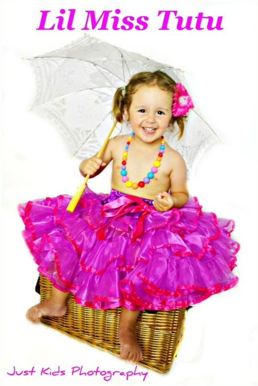 So Pretty & Frilly , we can custom Colour to match your Perfect Day
