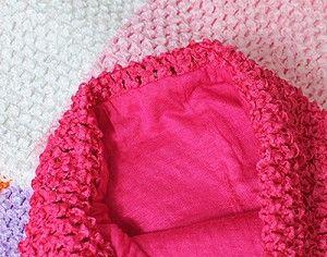 "10"" Lined Crochet Tutu Tops for making tutu dresses"