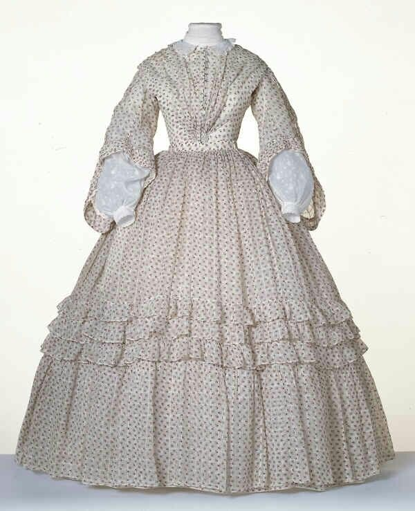 1860 - day dress