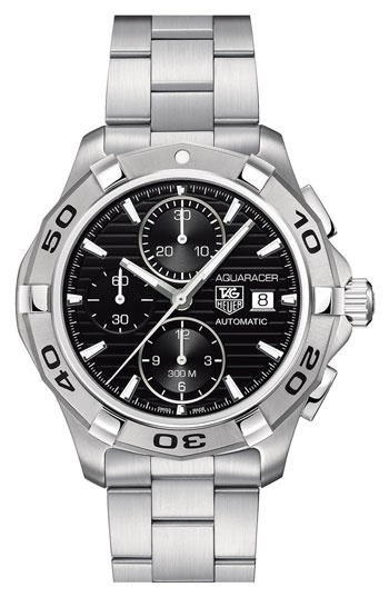 TAG Heuer 'Aquaracer' Automatic Chronograph Watch available at #Nordstrom