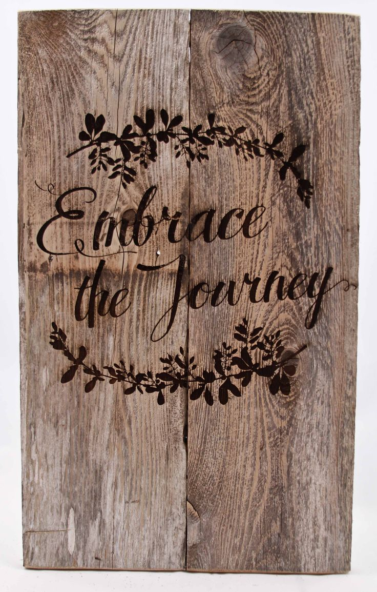 "Our signs are made from reclaimed wood to give you that rustic look and 25% of proceeds goes to help rebuild areas hit by natural disasters.  We hope to bring everything full circle.  Sign Measures:  10.75"" X 16"""