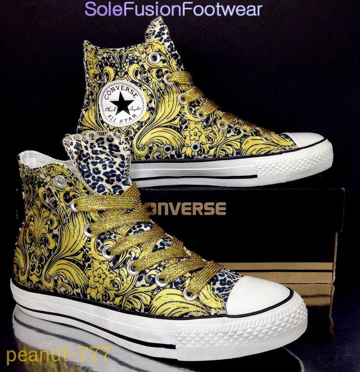 Converse Womens Gold Leopard Trainer Boots Size 5.5 Ladies LTD HI Top US7.5 EU38 in Clothes, Shoes & Accessories, Women's Shoes, Trainers | eBay