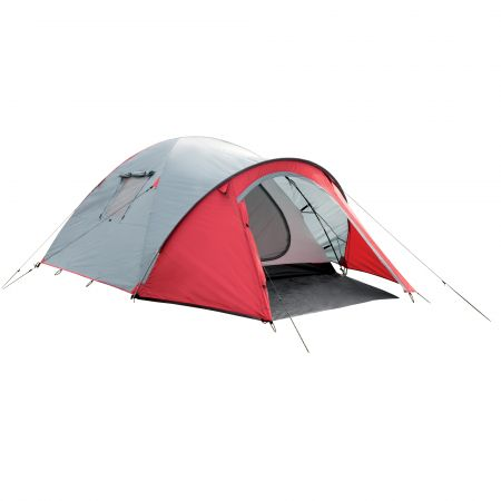 Retreat 60 3 Person Tent - Red/Grey