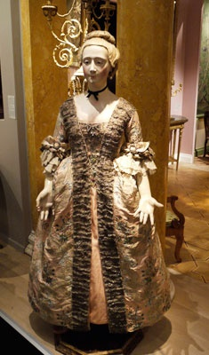 """Paris became the center capital of fashions, """"the capital of haute couture (Wilson, 70)"""" in the nineteenth century. They were assisted by the French who provided silks. Paris always had maniquens with the latest fashions on display. The maniquens were called """"Pandora's (Freudenbereger, 42.)"""