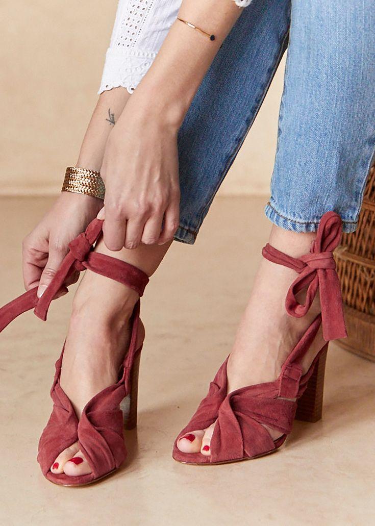 Sézane - High Salma Sandals
