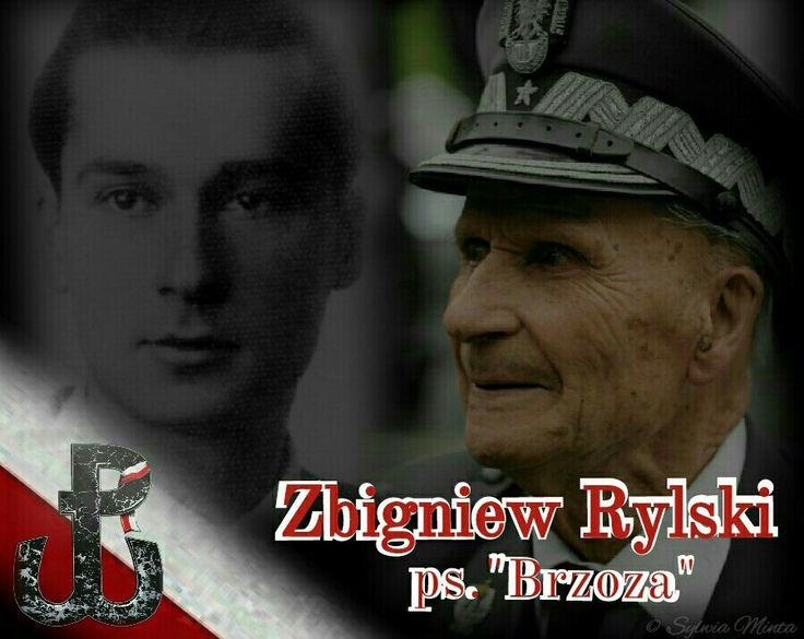 """Zbigniew Rylski ps. """"Brzoza"""""""