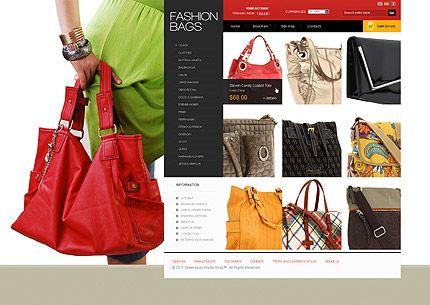 Fashion Bags PrestaShop Themes by Delta