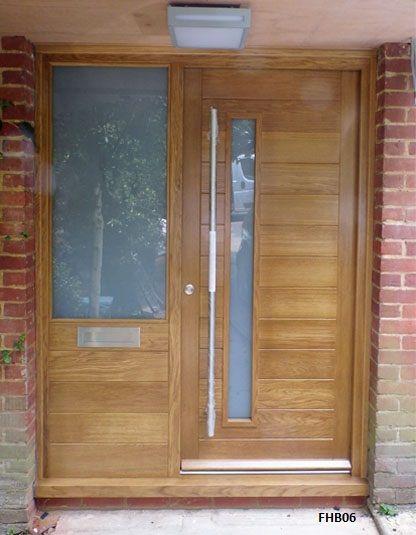 Contemporary Front Doors oak iroko and other woods Bespoke Doors & 11 best doors images on Pinterest | Front doors Entrance doors and ...