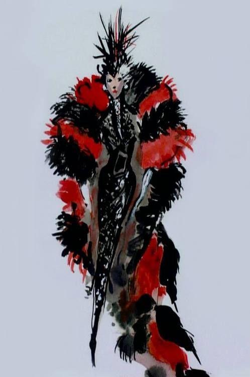 cruella deville red coat - Google Search