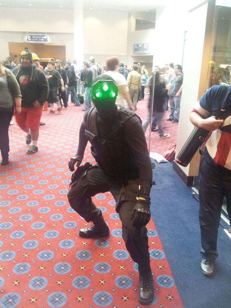 sam fisher splinter cell cosplay - Splinter Cell Halloween Costume