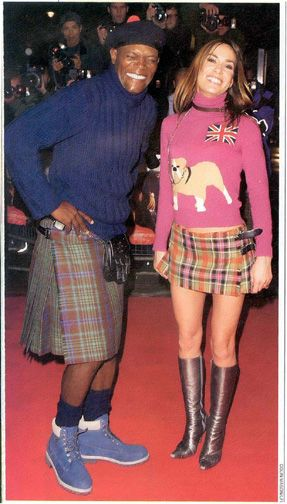Samuel L. Jackson and…I don't know, a Spice Girl or something?