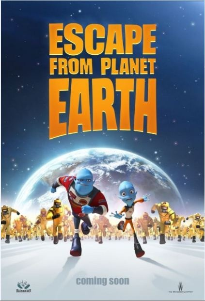 """Escape From Planet Earth"""" Movie Prize Pack & $25 Visa Gift Card #Giveaway"""