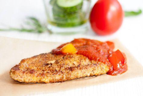LowCarb Wiener Schnitzel mit Zigeunersoße
