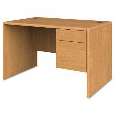 HON 10700 Series Small Right Pedestal Desk - HON107885RCC