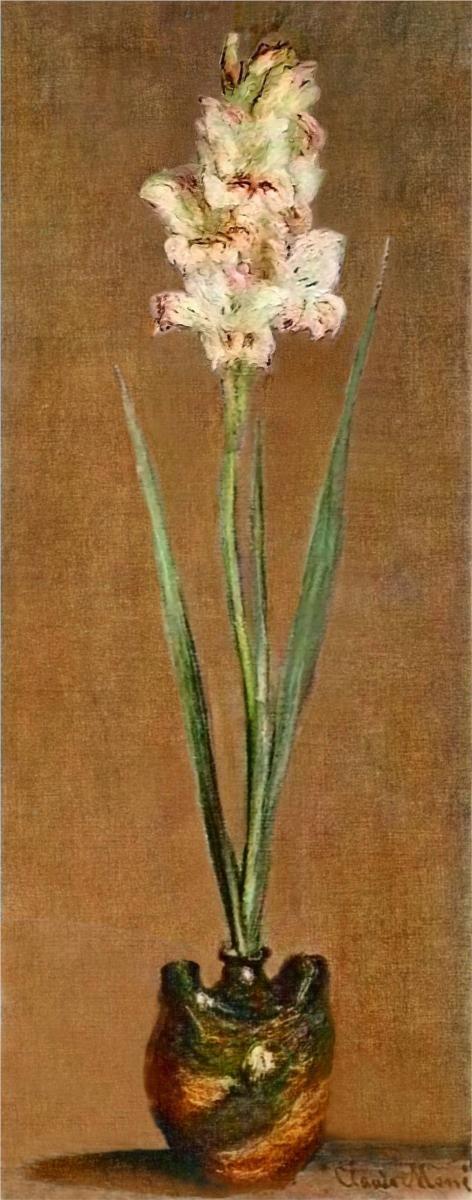Gladiolus | 1881 | Claude Monet