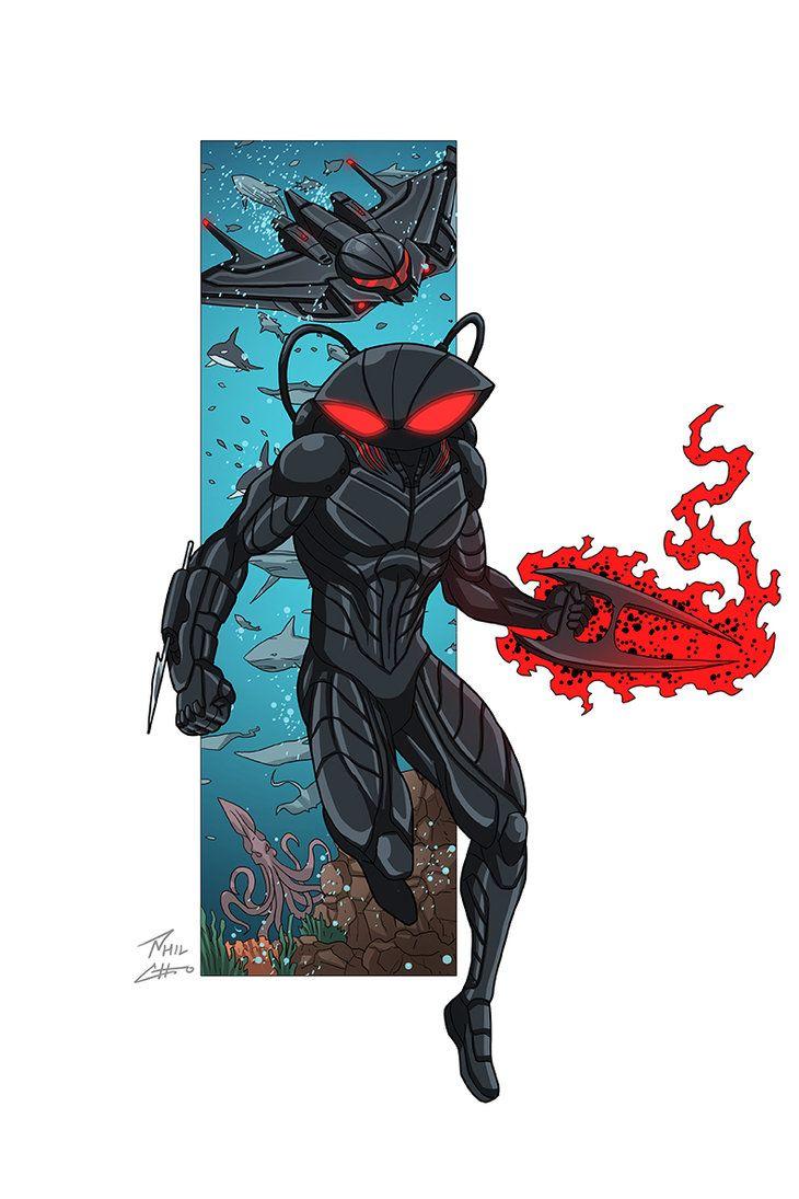 Black Manta Commission By Phil Cho Black Manta Dc Comics Art Dc Comics Wallpaper